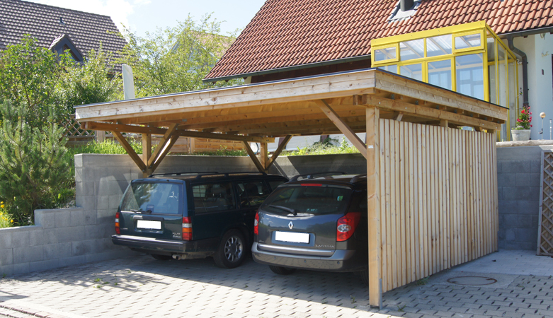 carport fahrzeugunterst nde pletscherzaun pletscher. Black Bedroom Furniture Sets. Home Design Ideas