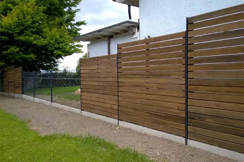 Sichtschutzwand impr gniert pletscherzaun pletscher co ag - Sichtschutzwand metall ...